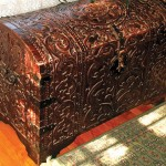 The Spanish mission chest was a Philippine acquisition.