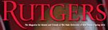 Rutgers magazine logo, Spring 2010